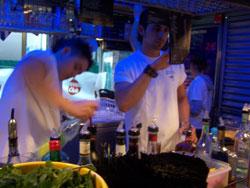 Cocktail bar 39 la casa loca 39 divins breuvages pour une pause festive hemelse dranken voor een - Feestelijke bar ...